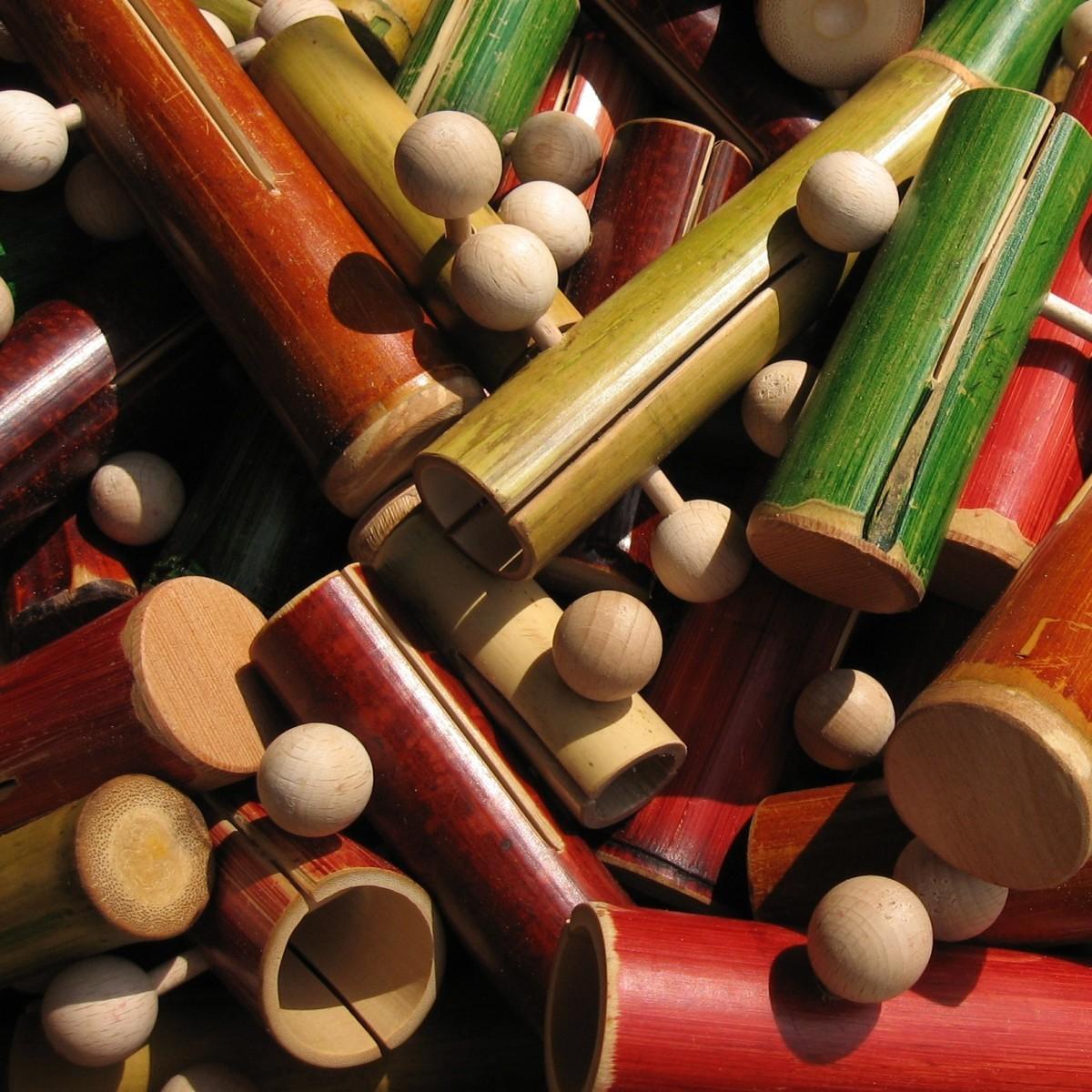 Bambusklapper
